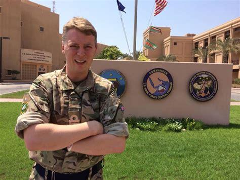 royal navy officer lt cdr jamie walker   awarded fleet