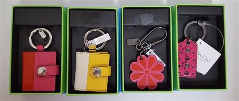 coach leather pink flower yellow pink photo frame hang