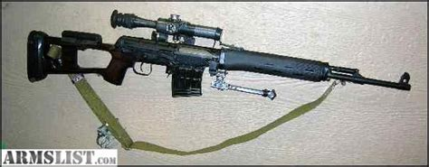 Used Russian Dragunov Svd Tiger In 7