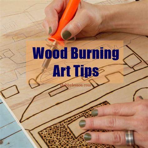 tested wood burning art tips