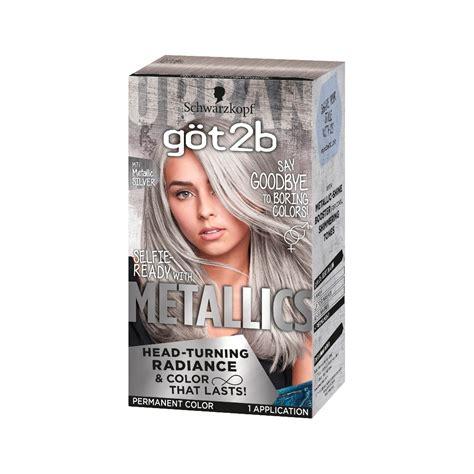 Got2b Color Metallic Dark Ruby 1 Kit Hair And Nails