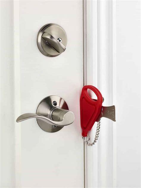 Door Lock by Addalock Portable Door Lock Addalock And Burglabar