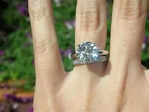 5 Carat Diamond Engagement Ring On Finger 34 | Engagement ...
