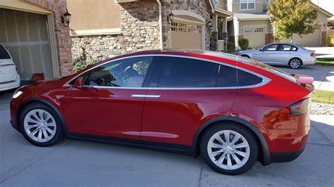 Model X / 2016 90D / Red   2683b   Only Used Tesla