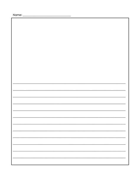 letter writing paper free printable lined stationery templates 68213