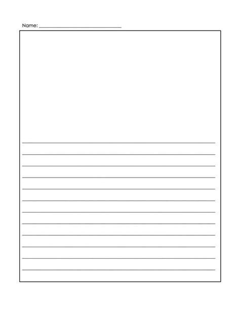 Free Printable Elegant Lined Stationery Templates
