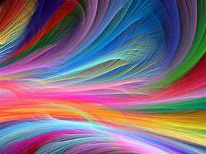 New Abstract Rainbow Wallpaper • dodskypict
