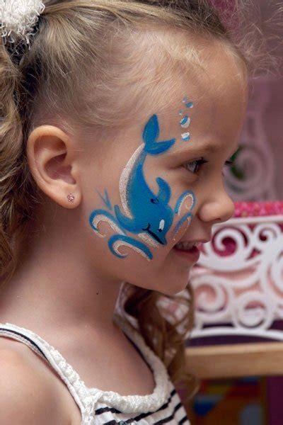 kinderschminken vorlagen bild 14 kinderschminken vorlage delfin