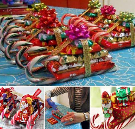 diy candy cane sleighs for christmas www fabartdiy com