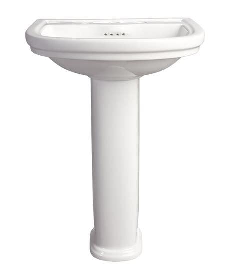 18 Inch Width Pedestal Sink by Pedestal Sink St George 24 Inch Pedestal Lavatory By Dxv