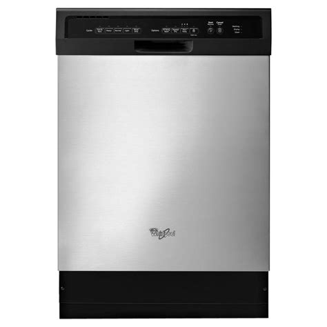 best whirlpool dishwasher whirlpool 24 in front built in tub