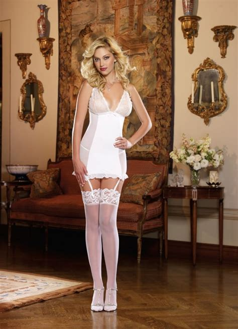 pearl perfect pleasure garter dress sexy bridal wear
