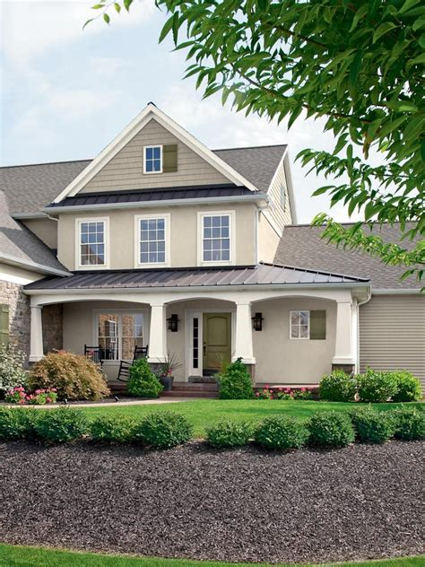 28 Inviting Home Exterior Color Ideas  Paint Color