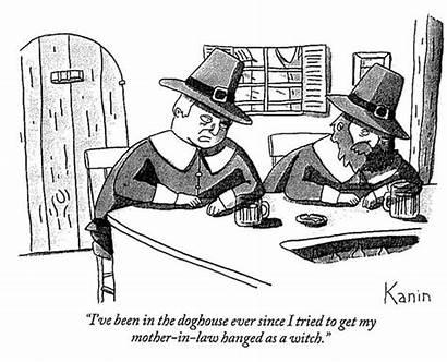Witch Cartoon Hunt Crucible Puritan Trials Trump