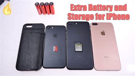 no storage on iphone storage and battery for iphone ixtra unboxing