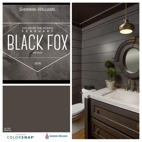 sherwin williams black fox southern painting  twitter