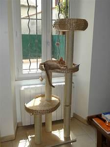 Arbre À Chat Pour Gros Chat : l 39 arbre chat abyssins d 39 abystyle ~ Nature-et-papiers.com Idées de Décoration