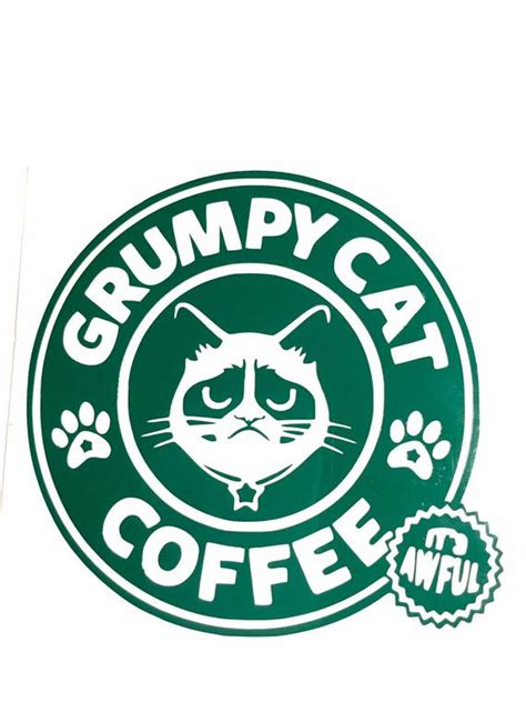 Click here and download the grumpy before coffee svg cut file · window, mac, linux · last updated 2021 · commercial licence included DIY Grumpy Cat Coffee Vinyl Decal Choose Vinyl Color Choose