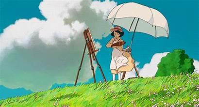 Ghibli Studio Animation Software Wind Gifs Rises