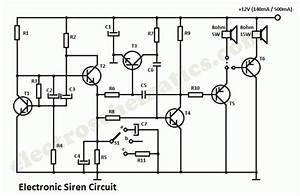 Electronic Siren Circuit