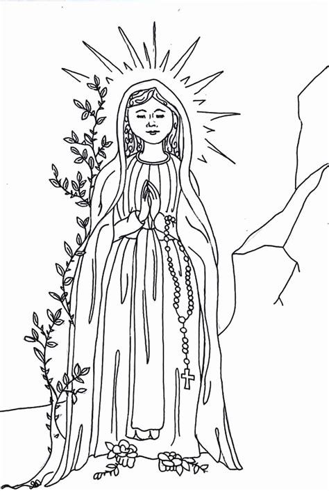 mary   angel coloring page   mary   angel coloring page png images