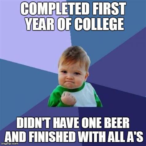 College Kid Meme - success kid meme imgflip