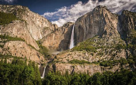 Waterfall Yosemite National Park Wallpapers