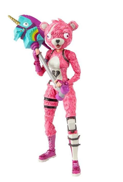 action figure cuddle team leader fortnite mcfarlane