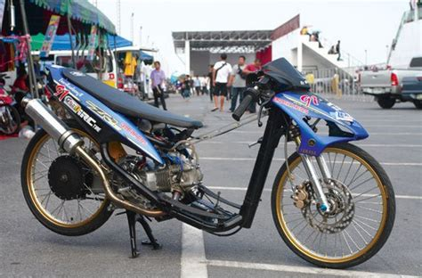 Drag Honda Mio by Kumpulan Gambar Modifikasi Mio Drag Bike Otomotiftren
