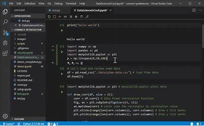 Python Code Visual Studio Habr Terminal Microsoft