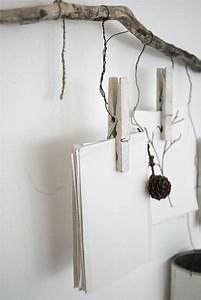 Accrocher Photos Au Mur Sans Abimer : le bois flott en d co 52 id es originales carte ~ Zukunftsfamilie.com Idées de Décoration