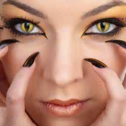 Halloween Contacts Prescription Cheap by Cute Or Spooky Halloween Contact Lenses And Make Up Ideas