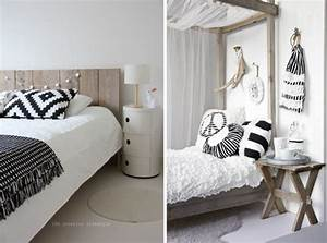 Deco Bois Et Blanc : chambre adulte style scandinave bricolage maison et d coration ~ Melissatoandfro.com Idées de Décoration