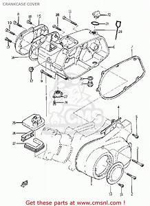 Yamaha Yg1 Trailmaster 80 1964 Usa Crankcase Cover