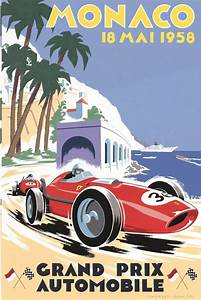 Grand Prix Automobile : monaco grand prix auto racing posters signs and propaganda pin ~ Medecine-chirurgie-esthetiques.com Avis de Voitures