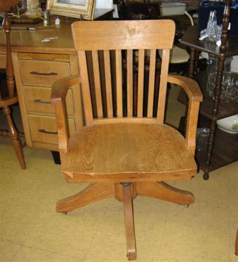 antique wooden swivel desk chair antique oak office desk chair swivel wood ebay