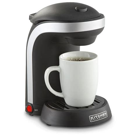 They have gained in popularity in recent years for their valued convenience and consistency, whether these machines are used at home or in the office, even in hotels and cafes. Single Serve Coffee Maker - 207077, Kitchen Appliances at Sportsman's Guide
