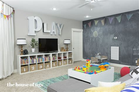 playroom ideas ikea the montgomery house playroom the house of figs Basement