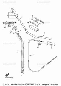 Yamaha Motorcycle 2008 Oem Parts Diagram For Steering
