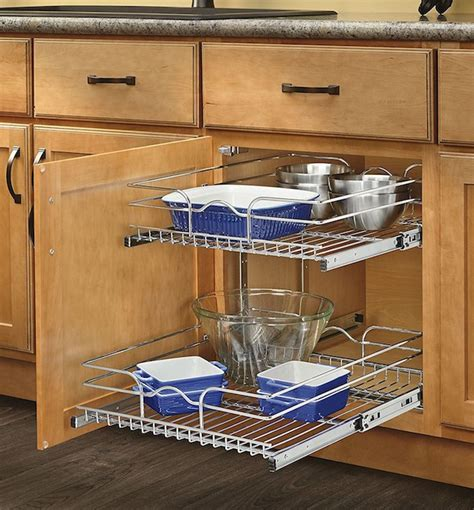 Kitchen Cupboard Pull Out Shelves by 25 Kitchen Organization Ideas That Ll Make Your So