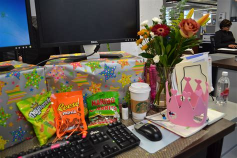 how to decorate a desk decorating desk at work for birthday hostgarcia