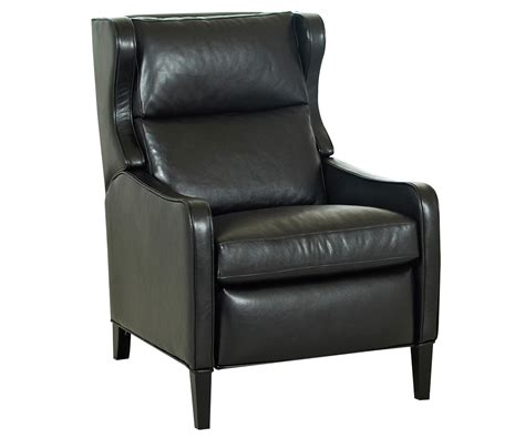 Tall Back Leather Recliner Chair