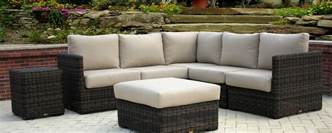 patio renaissance greenville sectional summer house patio