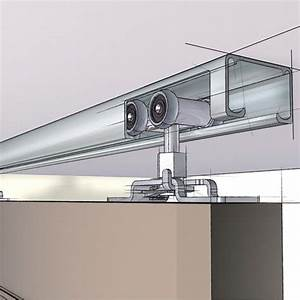 ceiling mounted hanging rail for doors 839 61 my With ceiling mounted barn door track system