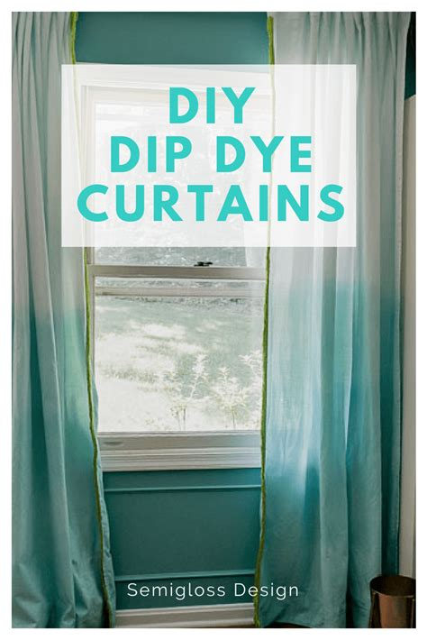 Make Your Own Living Room Curtains by Ikea Curtains Hack How To Make Your Own Dip Dye Curtains