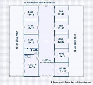 6 stall horse barn plans dream barn all the pretty With 8 stall horse barn plans