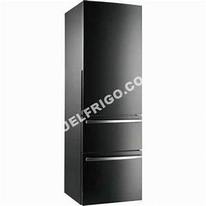 Frigo Congelateur En Bas : frigo gris anthracite table de cuisine ~ Mglfilm.com Idées de Décoration