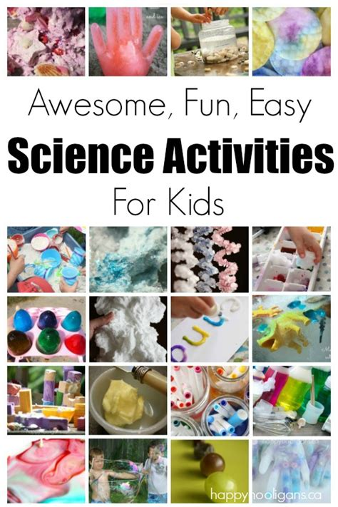 science activities for happy hooligans 763 | Fun and Easy Science Activities for Kids
