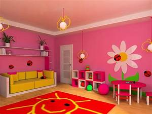 Jak vymalovat dětský pokoj pro holku