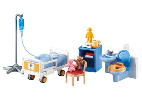 playmobil chambre parents child hospital room 6444 playmobil usa